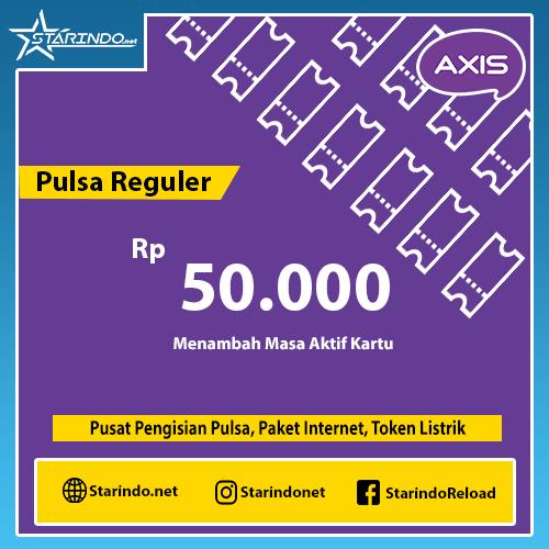 Pulsa Axis Reguler - Axis 50.000