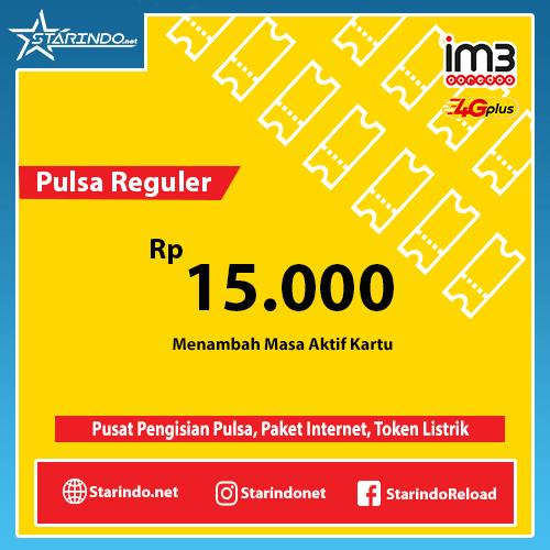 Pulsa Indosat Reguler - Indosat 15.000