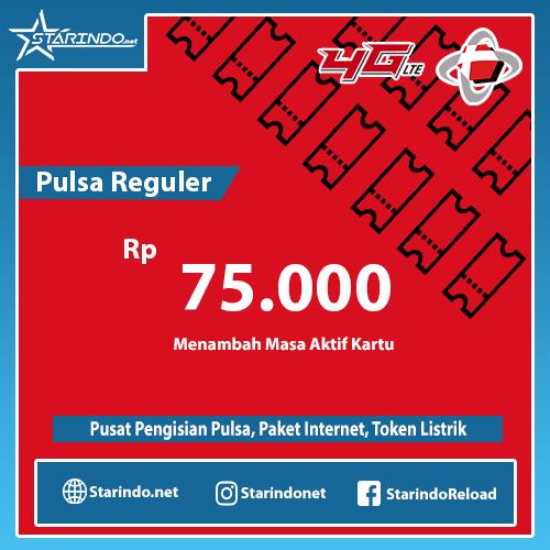 Pulsa Telkomsel Reguler - Telkomsel 75.000