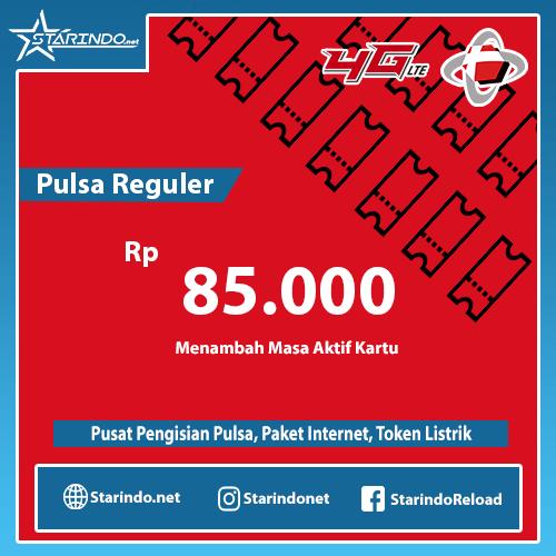 Pulsa Telkomsel Reguler - Telkomsel 85.000