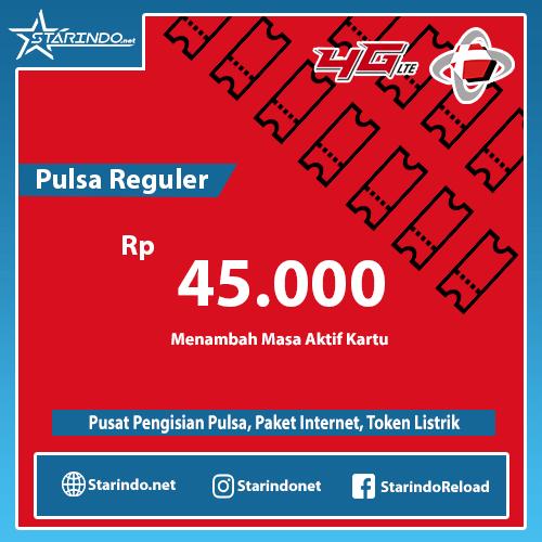 Pulsa Telkomsel Reguler - Telkomsel 45.000