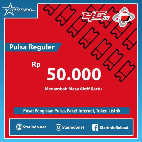 Pulsa Telkomsel Reguler - Telkomsel 50.000