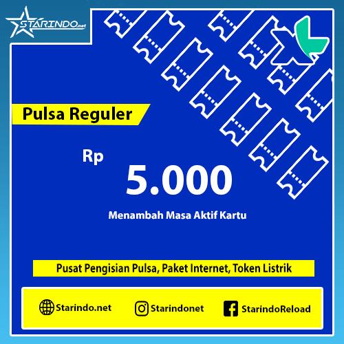 Pulsa XL Reguler - XL 5.000