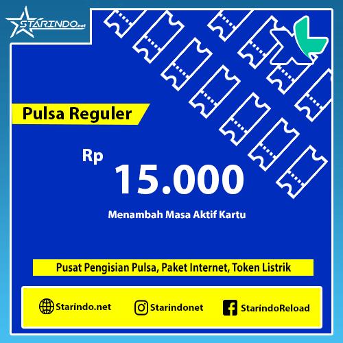 Pulsa XL Reguler - XL 15.000