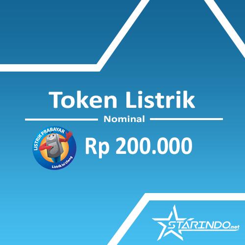 Token Listrik Token Listrik - Token Listrik 200.000